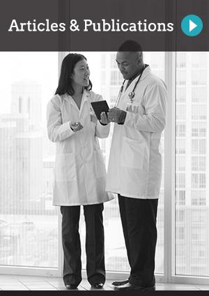 Articles & Publications | two doctors talking