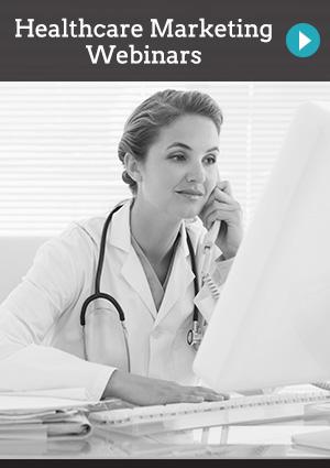 Healthcare Marketing Webinars | doctor watching something on computer
